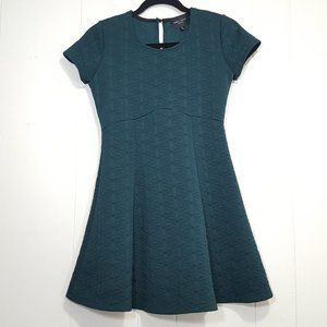Romeo Juliet Couture jaquard dress green size S